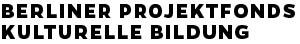 Berliner Projektfonds Kulturelle Bildung, Logo